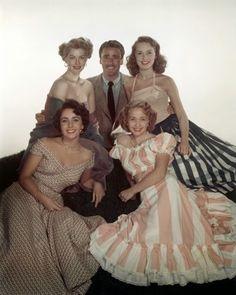 Vintage Glamour Girls: Jane Powell, Elizabeth Taylor, Ava Gardner, Janet ...