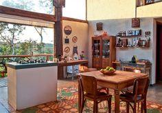 A casa da estilista mineira Fabiana Milazzo é um oásis de inspiração rústica e design atual