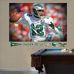 Randall Cunningham In Your Face Mural, Philadelphia Eagles