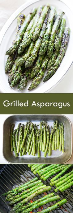 Easy grilled asparagus! Nothing beats the flavor of asparagus, coated in olive oil, sprinkled with salt, and quickly grilled. #healthy #paleo #vegan On SimplyRecipes.com
