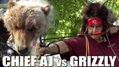 Chief AJ vs Grizzly