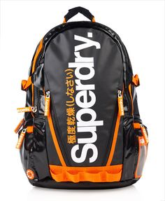 Superdry Shine Tarp Backpack