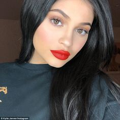 Keeping mum: Kylie has not promoted it herself on social media. She usually does swatches ... #kyliejenner