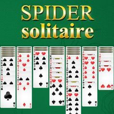 Play Spider Solitaire game online free including Puzzles games. Spider Solitaire…