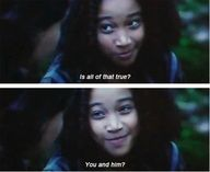 the hunger games / lol her face!