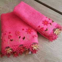 This Pin was discovered by Mer Diy And Crafts, Towel, Towels