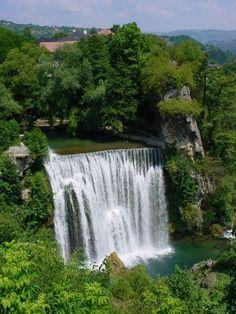 Jajce, waterfalls in spring, Bosnia Countries Europe, European Countries, Austro Hungarian, Bosnia And Herzegovina, Macedonia, Albania, Eastern Europe, Montenegro, Waterfalls