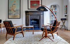 Интерьер с креслами.
