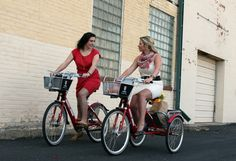 B-cycle Introduces First Bike Share Tricycle
