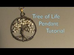 How to Create a wire wrap Tree of Life pendant « Jewelry