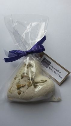 Natural Handmade Heart Bath Fizzers English by JasmineTherapy