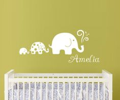 LARGE Elephant Monogram by paisleyinapeartree on Etsy, $24.00