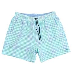dafd9ba62d843 Southern Marsh Men's Dockside Swim Trunk Southern Marsh, Southern Tide,  Seersucker, Gingham,