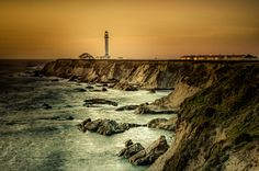 Point Arena Lighthouse by Larry Nienkark on 500px