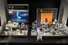 Bortolin Gioielli Udine - le nostre vetrine #hamilton #tagheuer #gioielli #orologi. Visita il nostro sito www.bortolingioielli.it