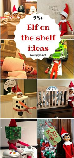 25+ Elf on the shelf ideas | NoBiggie.net