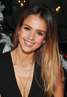 Ombre Hair Color for Brunettes | 20. Jessica Alba Ombre Hair Color Idea: Brunette to blonde ombre