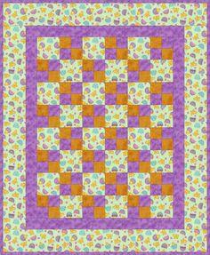 Pulcini in un guscio di pre-tagliati Baby Kit Quilt Blocks - Quilt Kit Negozio