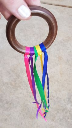 Rainbow ribbons – CleverBabi