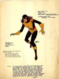 """18 months prior to the character eventually debuting in Uncanny X-Men Marvel Comics artist John Byrne unveiled his new creation – Katherine """"Kitty"""" Pryde R… Comic Book Pages, Comic Book Heroes, Comic Books Art, Comic Art, Book Art, Marvel Comic Universe, Marvel Comics, Marvel Heroes, X Men Costumes"""
