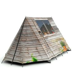 shed style tent fun outdoor camping
