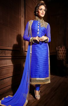 Churidar suits, Churidar and Suits on Pinterest