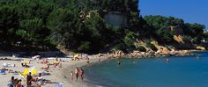 Playa de Cap Roig.