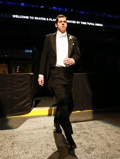 Evgeni Malkin attends the annual Skates and Plates gala hosted by Trib Total Media 3/5/13