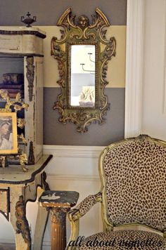 All About Vignettes: Chippy Chairs