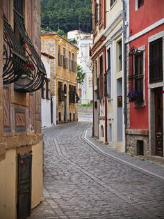 The old town of Xanthi in Thrace