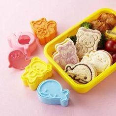 Animal Friends Mini Sandwich Cutters (set of 4)