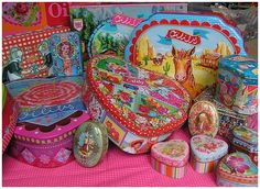 Colorful Tins by Oilily