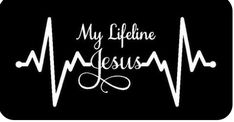 My Lifeline Jesus Decal Sticker - Christian God Religious Cute Car Truck Laptop Vinyl Projects, Vinyl Crafts, Neutral, Vinyl Shirts, Cute Cars, Silhouette Cameo Projects, Vinyl Designs, Shirt Designs, Bumper Stickers