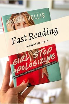 Girl Stop Apologizing by Rachel Hollis - Best Books To Read, Good Books, How To Read Faster, Rachel Hollis, Book Review Blogs, Free Books Online, Girl Reading, Book Reviews, Book Worms