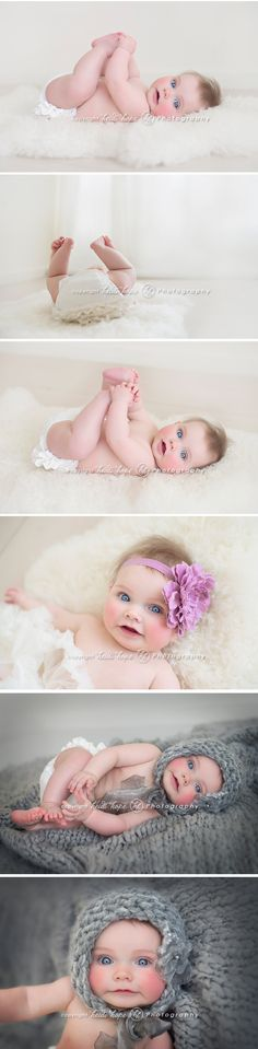 This sweet girl is the 3rd baby in a way-too-gorgeous family!  Ive been lucky enough to photograph each of these dolls at my favorite age, 6 months old.  S was so easy going and full of smiles, and as you can see, the camera adores her.  But, not as much as I did.  I wanted to take her home.
