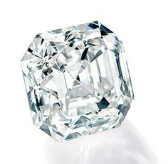 """Twelve Ten. In it's rough form, this 12.10 carats asscher shaped diamond weighed 29.4 carats.The Diamonds Standards Manager at the Forevermark Diamond Institute describes this asscher shaped diamond as """"A phenomenal, nearly colorless diamond with endless reflections through its table, enhancing its brilliance."""" #forevermark #diamond #mccaskillandcompany"""