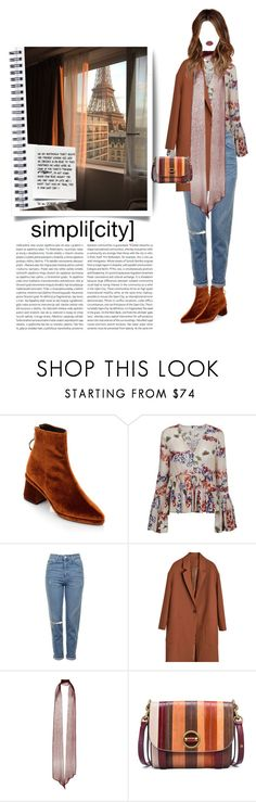 """""""Untitled #148"""" by vinylizing ❤ liked on Polyvore featuring Reike Nen, MSGM, Topshop, Rodarte, Tory Burch, Lime Crime, Della and Oris"""
