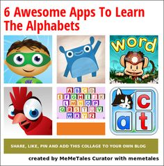 6 awesome apps to help kids learn the alphabets