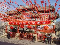 white cloud temple beijing, the most important taoist temple in the world