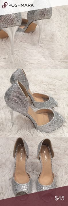 😎#hustleweekendsale Magical heels Used twice only - fabulous condition❤️ Liliana Shoes Heels