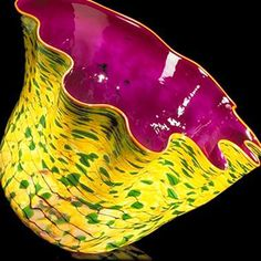 It is Art Day!: Chihuly inspired Pottery