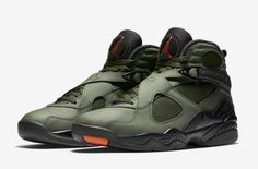 Official Images Of The Air Jordan 8 Take Flight