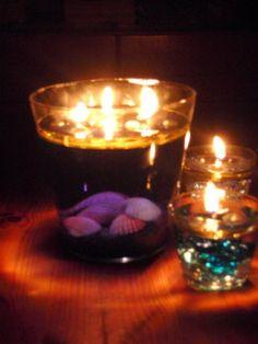 Kerzenschein statt helles Lampenlicht