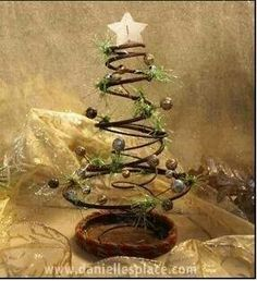 Bedspring Christmas Tree