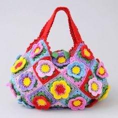 Colorful Granny Bag