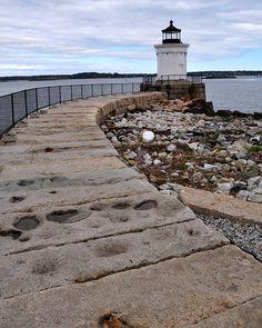Maine Lighthouses and Beyond: Portland Breakwater (Bug) Lighthouse
