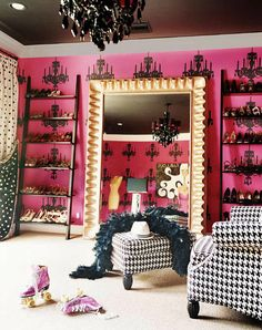 How amazing is this celebrity closet?