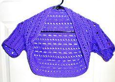 Dots and Dashes Bolero - easy free crochet pattern