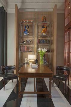 Soane's Klismos Chairs at Rosewood Hotel, London