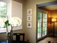 Sherwin Williams Ramie SW 6156 (neutral light khaki - used in family room) Paint Color Palettes, Paint Color Schemes, Kitchen Paint, Living Room Kitchen, Interior Paint Colors, Interior Design, Interior Shutters, Paint Colors For Living Room, House Painting